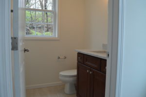 10.5 deepwood powder room